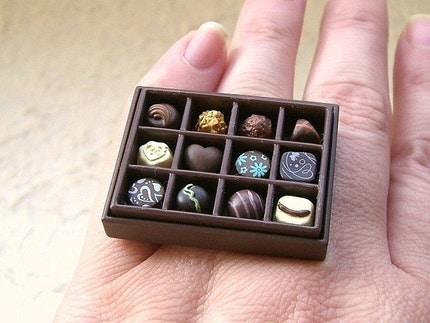 Kawaii Cute Japanese Ring-Box Of Chocolates