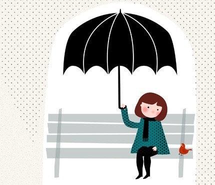 Sous la pluie Print 8 x 11.5