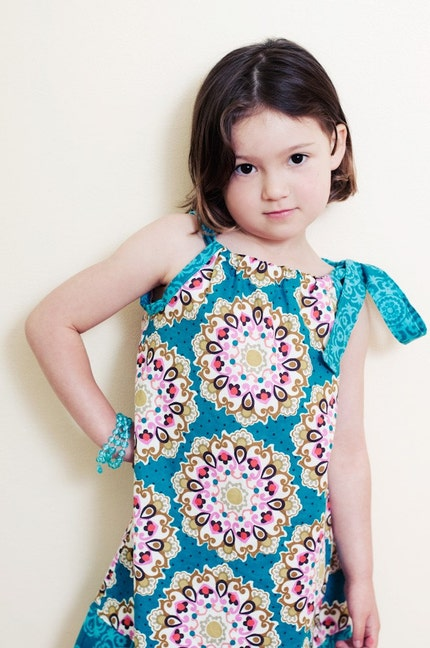 NEW FOR SUMMER 2010 - Emmaline Sundress - 6m, 12m, 18m, 2t, 3t, 4t, 5t