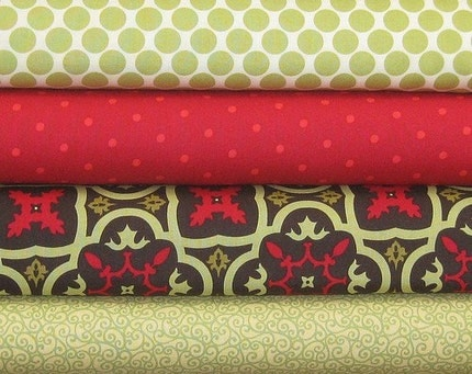 Amy Butler, Genevieve Gail, and Patty Young Fabric Bundle, 4 Half Yards