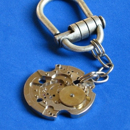 KEYCHAIN Extraordinaire, Spring Tension Pull Pin SECURE yet Easy On or Off, Hook it onto a Beltloop or Purse