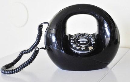 Black Handbag Phone