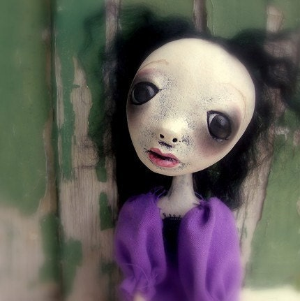 Loopy Art  Doll OOAK Abbie