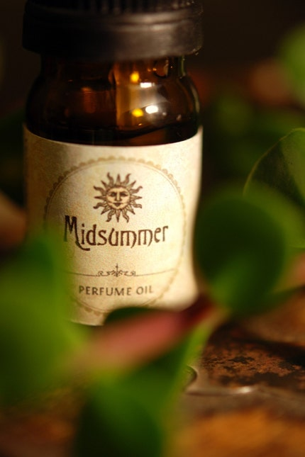 SALE Midsummer Natural Perfume Oil