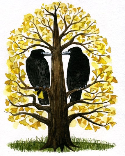 Two Rooks Limited Edition Archival Inkjet Print
