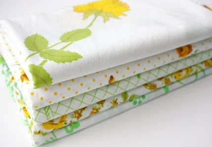 Yummy Vintage Fabrics (half yard bundle) -- Sunshine Collection