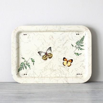 butterfly lap serving tray