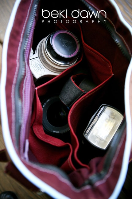 The Aperture Camera bag - A Brooke Van Gory Exclusive Completely CUSTOM