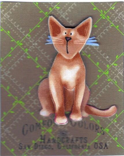 Domestic Cat, Pin