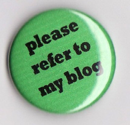 please refer to my blog button