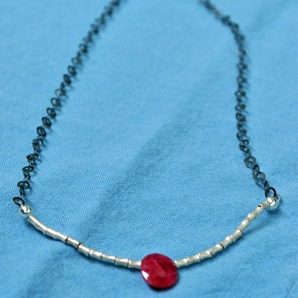 Litte red riding hood necklace