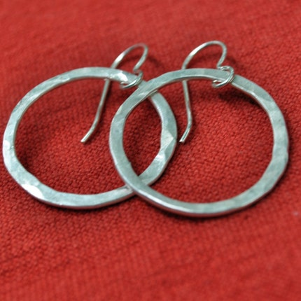 Silver Circles earrings