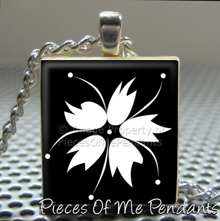 Pieces Of Me Pendants ...... Scrabble Tile Pendant ......  ABSTRACT HIBISCUS