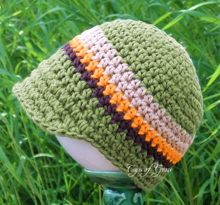 Etsy Green Baby Hat