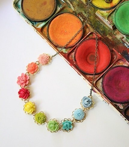 Little Color Wheel Necklace