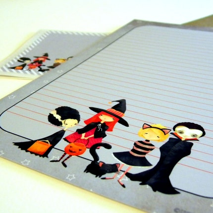 The Boo Crew Mini Letter Writing Set