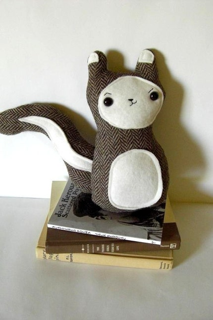 Belchik - The Mischievous Woodland Squirrel Plush - Made to order