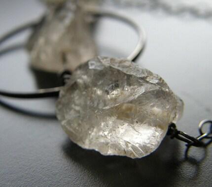 Rock Candy - Champagne Quartz Necklace