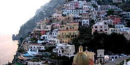 Positano at Dusk 16x20 Photograph