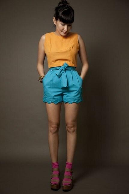 NENEEE Cyan Shorts