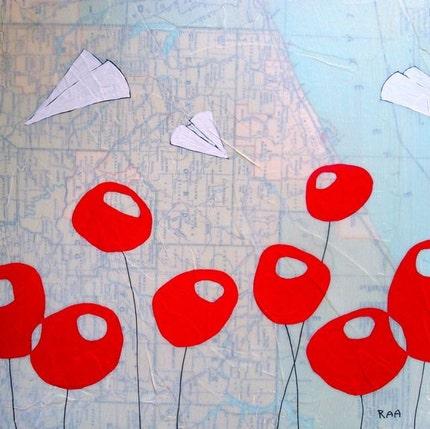 Crawford - Original Map Painting
