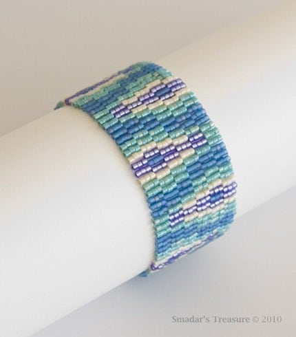 Free Shipping - Blue, Green, Purple Bracelet