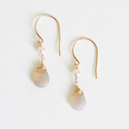 aubrey earrings     .    14kt gold filled hooks    .