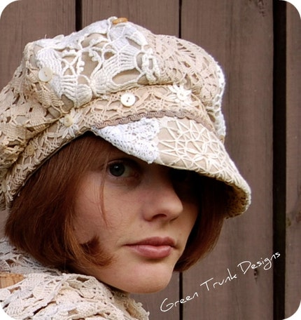 Heirloom Newsboy Hat