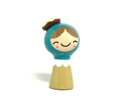 Sprinkled Doughnut TEENY Plini Figurine