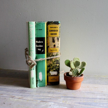 Vintage Gardening Book Bundle No. 3