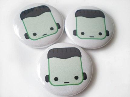 Frank pinback button