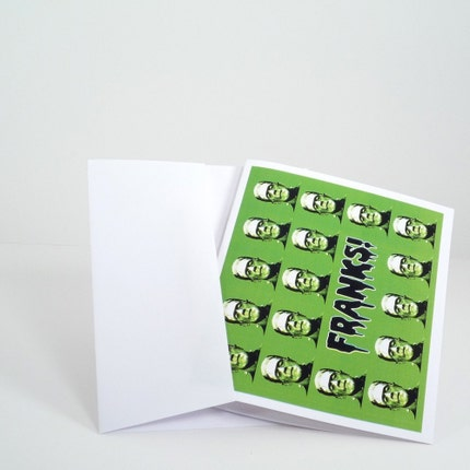 Franks set of 10 thank you cards and envelopes by theRasilisk from etsy.com