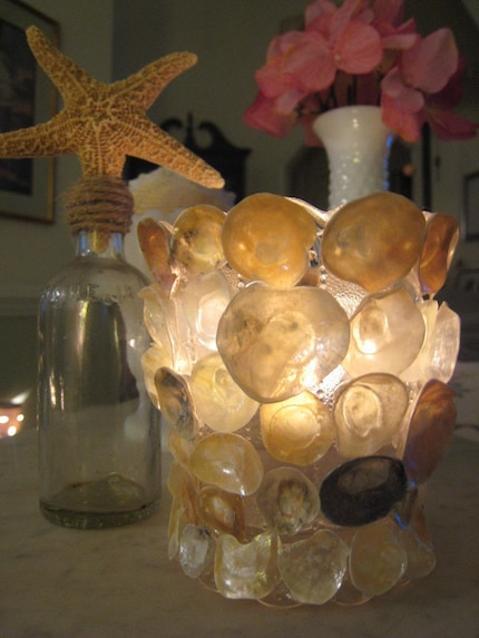 Jingle Seashell Candle Votive