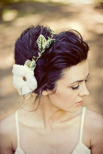 Nature girl halo in ivory