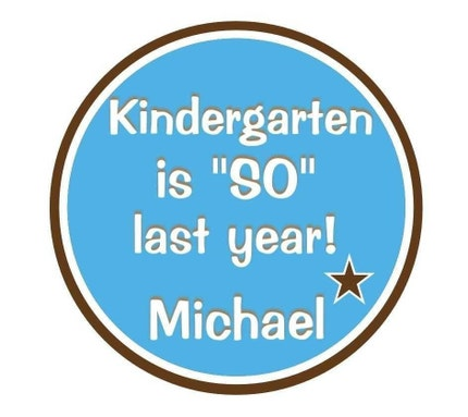 Personalized Boys Shirt Kindergarten, Preschool, First Grade is SO last year, Back to School Shirt