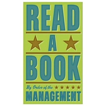 Read a Book Print 6 in x 10 in