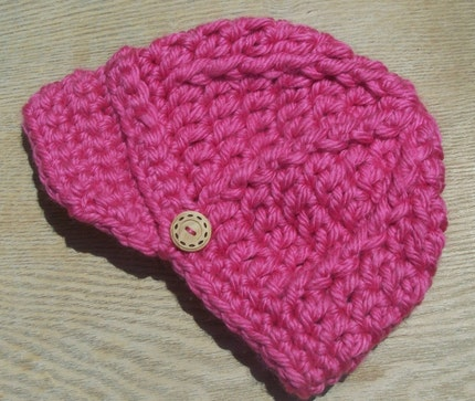 Chunky Newsboy Hat for Toddlers and Adults