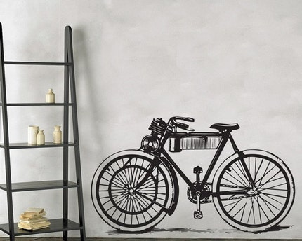 Bicycle Wall Decal Sticker