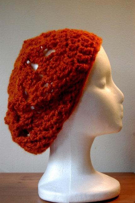Pumpkin Beret Hat