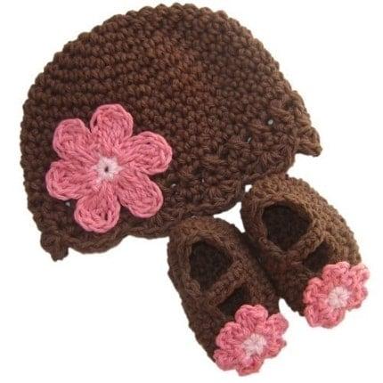 Gorros tejidos bebé - Imagui