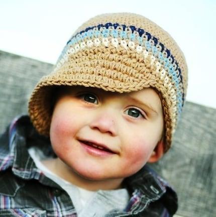 Como tejer gorros a crochet paso a paso - Imagui