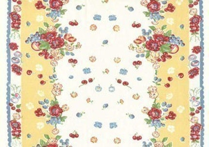 Retro Granny S Kitchen Toweling Fabric Moda Towel Ebay