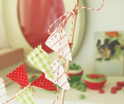 {Detail To Love} Cake Bunting