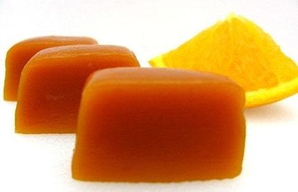 Orange Cream Caramels