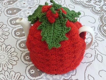 Leaves Pattern Crochet Crochet Holly Leaves Berries