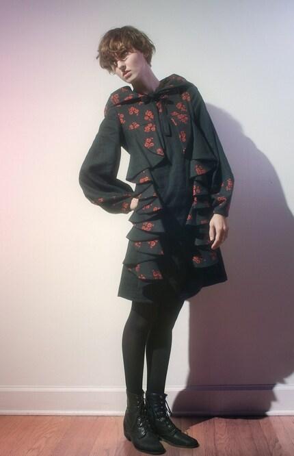 Cascade Dress MADE TO ORDER