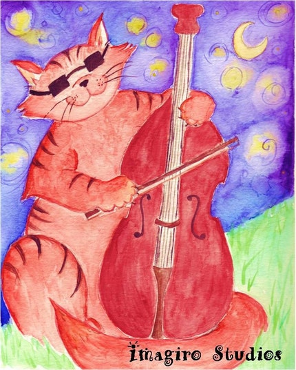 The Cat and the Fiddle - 8x10 PRINT
