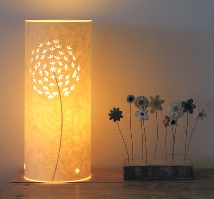 Small Allium Table lamp by Hannahnunn on Etsy from etsy.com