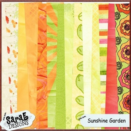 Sunshine  Garden - Digital Paper Pack