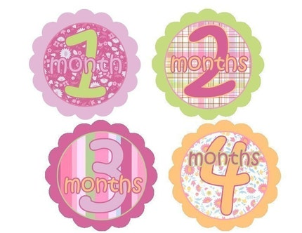 Onesie Stickers Little Eva Flower-Check Store Home Page for Monthly Specials